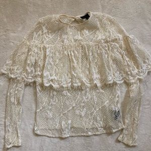 Who What Wear beautiful lace top